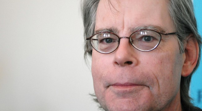 US author Stephen King is pictured at a